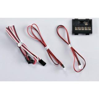 Killerbody světelná sada 1:10 4 LED s řídící jednotkou