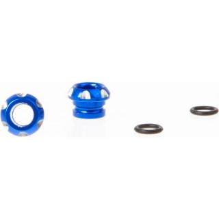 Killerbody hliníkový držák LED 5mm modrý