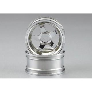 Killerbody disky kol 1:10 5-spoke stříbrné (4)