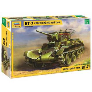 Model Kit tank 3545 - BT-7 Soviet Tank (1:35)