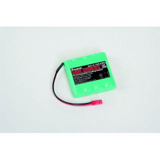 Baterie přijímače 4NH-2000 RX RTU plochá, konektor BEC