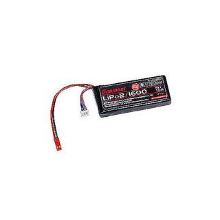 Akumulátor LiPo 20C 2/1600 7,4V BEC