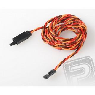 JR026 prodlužovací kabel kroucený 120cm s pojistkou