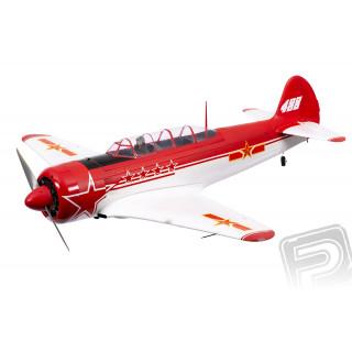 Yak-11 1450mm ARF Červeno/Bílá