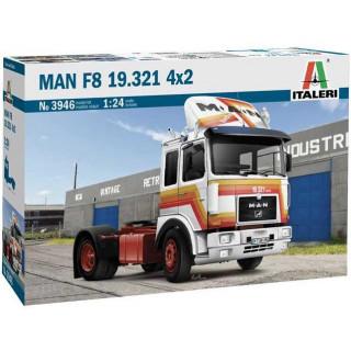 Model Kit truck 3946 - MAN F8 19.321 4x2 (1:24)