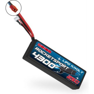 Team Orion LiPol Rocket Sport 4300mAh 11.1V Deans