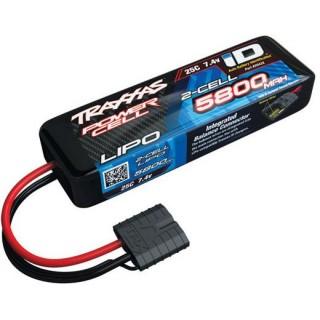 Traxxas LiPol Car 25C 5800mAh 2S1P 7.4V iD