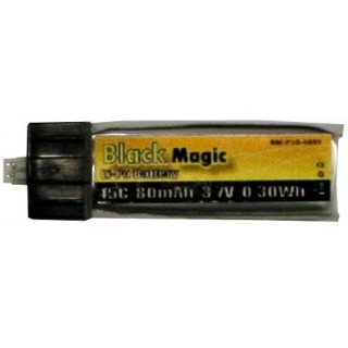 LiPol Black Magic 3.7V 80mAh 15C EFL