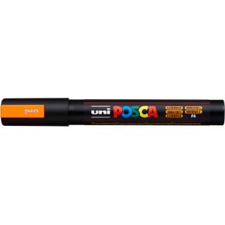 Akrylový popisovač UNI POSCA PC-5M 1,8-2,5mm - neonově oranžová