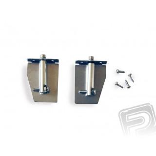 Ocelové vyrovnávací a nastavitelné klapky 40mm délka