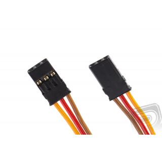 PATCH kabel 100mm, JR 0,25qmm plochý PVC kabel, 1 ks.