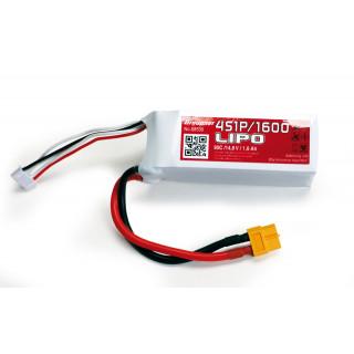 Power Pack LiPo 4/1600 14,8 V 90C XT60