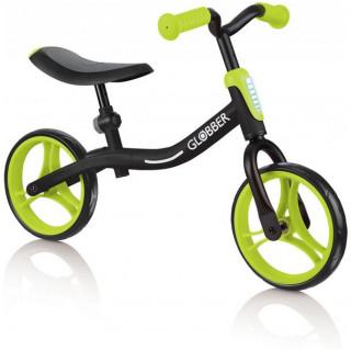 Globber - Dětské odrážedlo Go Bike Black / Lime Green