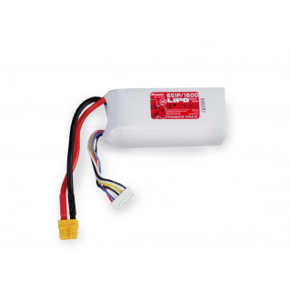 Power Pack LiPo 6/1600 22,2 V 70C XT60