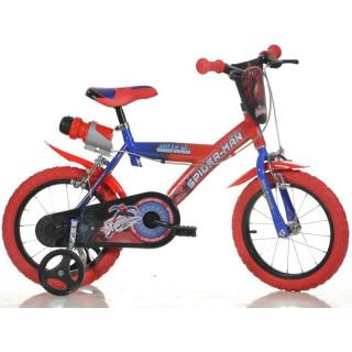 "DINO Bikes - Dětské kolo 14"" Spiderman"