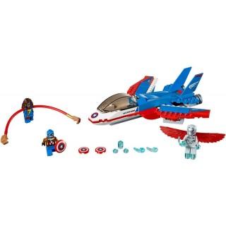 LEGO Super Heroes - Kapitán America a honička ve stíhačce
