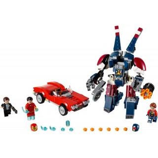 LEGO Super Heroes - Iron Man: Robot z detroitských oceláren