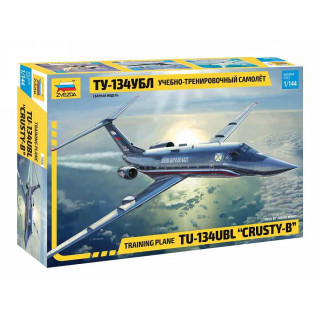 "Model Kit letadlo 7036 - Training plane TU-134UBL ""CRUSTY-B"" (1:144)"