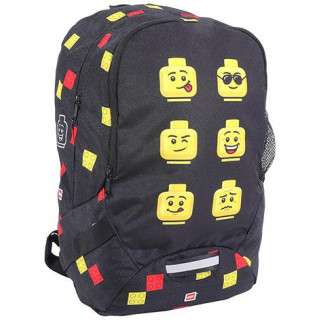 LEGO školní batoh - Faces Black
