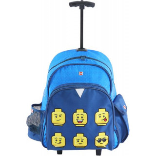 LEGO batoh trolley - Faces Blue