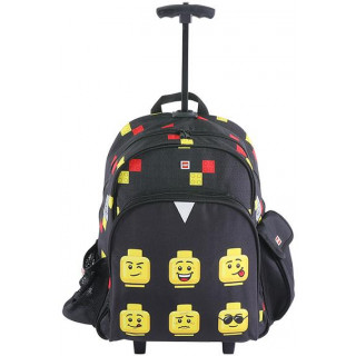 LEGO batoh trolley - Faces Black