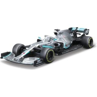 Bburago Mercedes W10 1:43 NO44 Hamilton