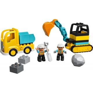 LEGO DUPLO - Náklaďák a pásový bagr