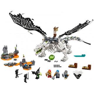 LEGO Ninjago - Drak Čaroděje lebek