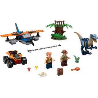 LEGO Jurský Park - Velociraptor: Záchranná mise s dvouplošníkem