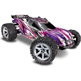 Traxxas Rustler 1:10 VXL 4WD TQi RTR růžový
