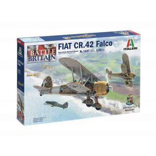Model Kit letadlo 1437 - FIAT CR.42 Falco (1:72)