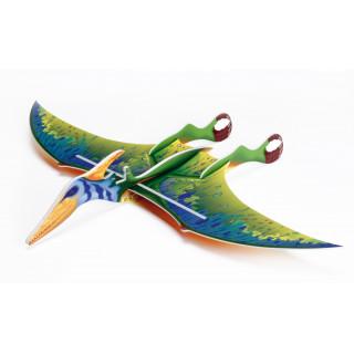Vector Pteranodon, zelený