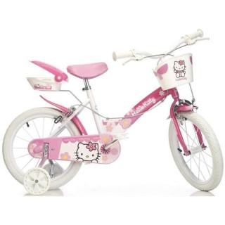"DINO Bikes - Dětské kolo 16"" Hello Kitty"