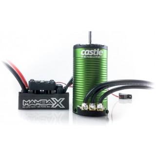 Castle motor 1415 2400ot/V senzored s reg. Mamba X SCT