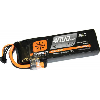 Spektrum Smart LiPo 11.1V 4000mAh 30C IC3