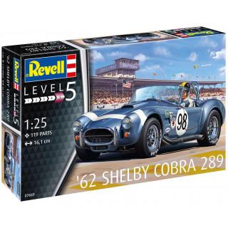 Plastic ModelKit auto 07669 - '62 Shelby Cobra 289 (1:25)
