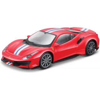 Bburago Ferrari 488 Pista 1:43 červená