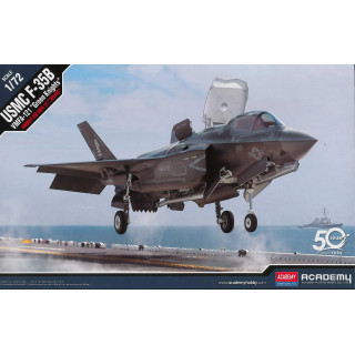 "Model Kit letadlo 12569 - USMC F-35B VMFA-121 ""Green Knights"" (1:72)"