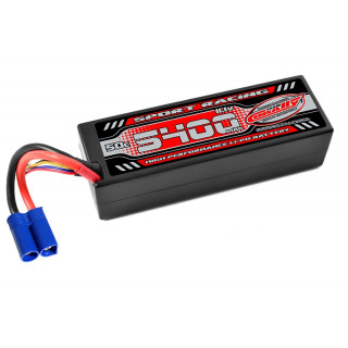 Power Racing 50C - 5400mAh - 3S - 11,1V - EC5 - Hardcase