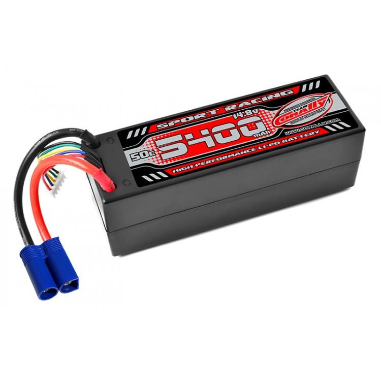 Power Racing 50C - 5400mAh - 4S - 14,8V - EC5 - Hardcase