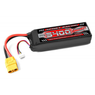 Power Racing 50C - 5400mAh - 3S - 11,1V - XT-90 - Semi-Soft case