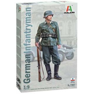 Model Kit figurka 7407 - German Infantryman (1:9)