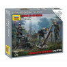 Wargames (WWII) military 6268 - German 120mm Mortar w/Crew (Snap Fit) (1:72)