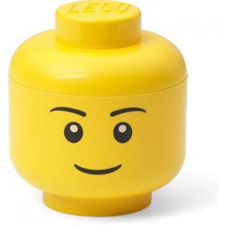 LEGO úložná hlava mini - chlapec