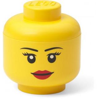 LEGO úložná hlava mini - dívka