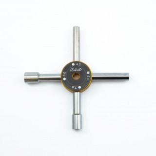 Universální nástrčkový klíč 4 v 1 (4,0 , 5,5 , 7,0 , 8,0mm)