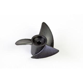 Hydroprop 40 mm 3-listý šroub - Pravý