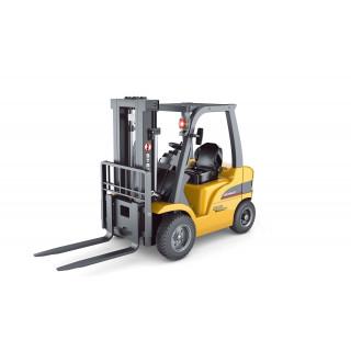 Vysokozdvižný vozík, 1:10, RTR, 2,4 GHz, kovová vidlice, zvuk
