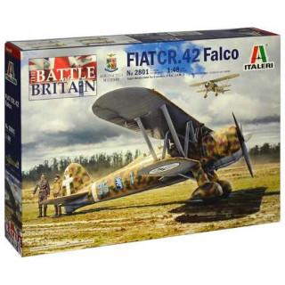 Model Kit letadlo 2801 - FIAT CR.42 Falco (1:48)