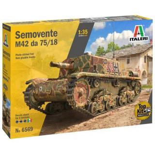 Model Kit military 6569 - Semovente M42 da 75/18 (1:35)
